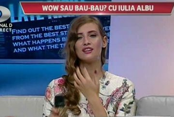 "Iulia Albu, neobisnuit de blanda cu vedetele! Una singura, insa, nu a scapat: ""Este pe centura? Daca e pe centura are tinuta potrivita!"""