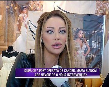 "Bianca Dragusanu despe starea de sanatate a mamei ei: ""Are o denivelare la nivelul nasului. Nu e usor, ea a fost o femeie frumoasa toata viata, nu e usor acum sa ai aceasta gaura"""