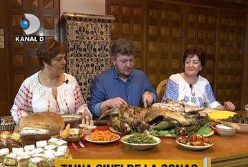 TARA-N BUCATE: Un meniu boem si bogat, pregatit la unul dintre cele mai frumoase domenii boieresti din tara ce a apartinut familiei Bratienilor