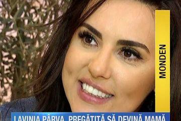 Lavinia Parva vorbeste deschis despre dorinta ei de a deveni mamica si relatia cu celebrul artist, Stefan Banica Jr