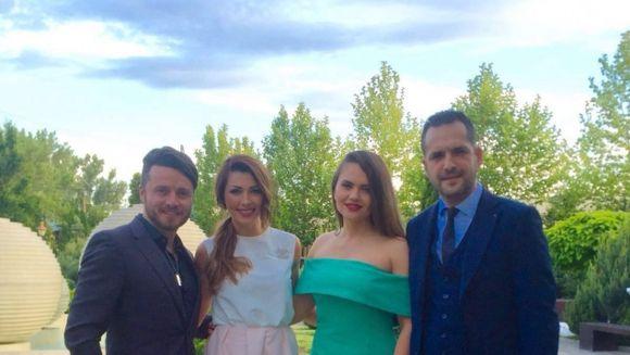 Vedetele Kanal D, premiate la Gala Celebritatilor anului 2016! Gabriela Cristea, Ilinca Vandici si Madalin Ionescu au primit Trofeul ravnit de toata lumea