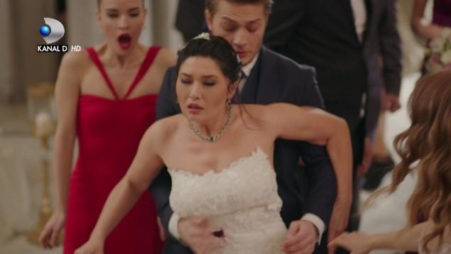 """Nunta lui Cihan cu Gulseren se transforma in cel mai negru cosmar! Urmariti ce se intampla la ceremonie, astazi, in """"Furtuna pe Bosfor"""", de la 20.00, la Kanal D"""