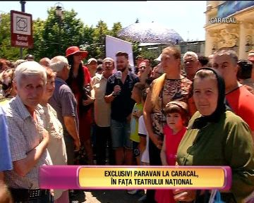 "Echipa emisiunii ""Te vreau langa mine"" a ajuns in strada, la Caracal! Au fost inconjurati de localnici si ce-a urmat va ramane in istoria emisiunii"