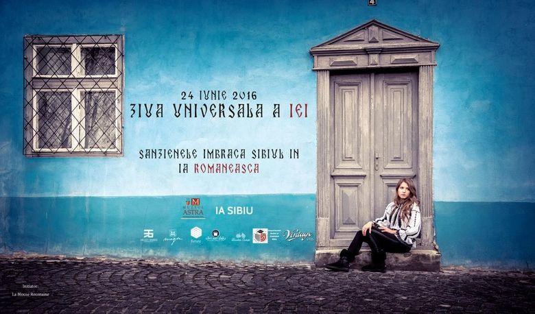 Peste 2.000 de oameni sunt asteptati maine la hora de sanziene, care deschide sarbatoarea internationala a iei de la Sibiu