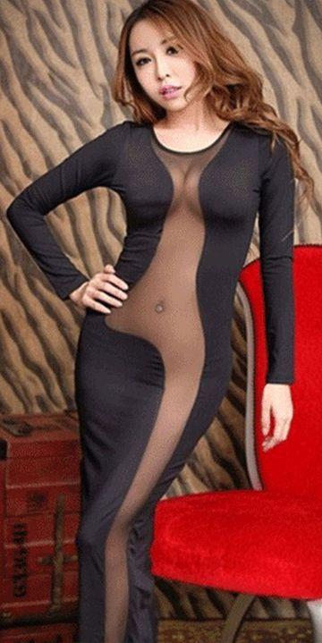 A vrut sa-si cumpere o rochie sexy asa ca si-a comandat una de pe net, care arata ca in aceasta imagine. Cand a primit coletul si l-a desfacut a inceput sa planga! Uite cum statea pe corpul ei