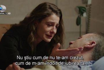 """Dilara incalca promisiunea facuta lui Cihan. Nu ratati azi un nou episod din """"Furtuna pe Bosfor"""", de la ora 20.00, la Kanal D"""