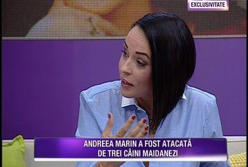 Andreea Marin acuzata ca a chemat hingherii, dupa ce a fost atacata de trei caini vagabonzi in zona casei sale. Vedeta este revoltata pe situatia cainilor fara stapan