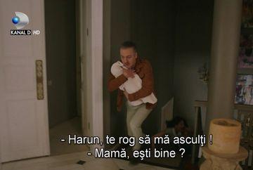 """Harun recurge la un gest extrem pentru a-si recupera fiul! Nu rata in aceasta seara, de la ora 20.00, un nou episod din serialul """"Furtuna pe Bosfor"""", numai la Kanal D!"""
