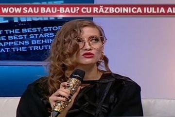 """Iulia Albu si-a facut damblaua in platoul Wowbiz! Nicio vedeta nu a scapat de furia ei! Uite cine a luat trofeele WOW si BAU! """"Nu e toata lumea reptilian ca mine sa nu transpire!"""""""