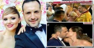 Madalin Ionescu a fost nas mare! Imagini senzationale de la nunta Ancai Ciota si a lui Phelipe!