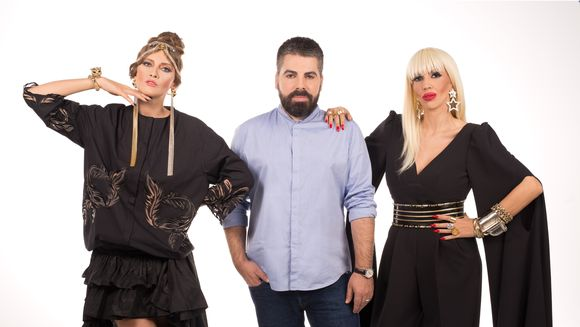 """Maurice Munteanu, alaturi de Iulia Albu si Raluca Badulescu, in juriul emisiunii """"Bravo, ai stil""""!, de la Kanal D"""