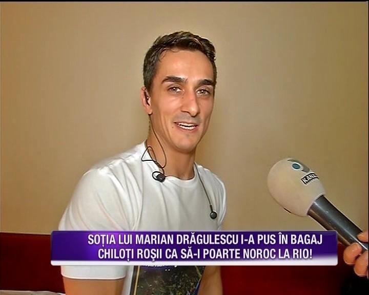 Marian Dragulescu, cu emotii inainte de Jocurile Olimpice de la Rio! Acesta a contactat un virus agresiv care i-a provocat o viroza puternica ce i-a ingreunat pregatirea fizica pentru olimpiada ce bate la usa. Iata ce a declarat sportivul