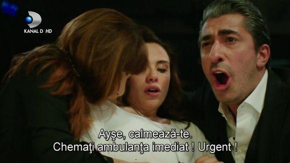 """In ultimul episod din acest sezon """"Furtuna pe Bosfor"""", Cihan este la un pas sa o piarda pe Ayse! Se intampla azi, de la 20.00, la Kanal D"""