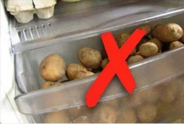 Motivul incredibil pentru care nu trebuie sa pastrezi niciodata cartofii in frigider!