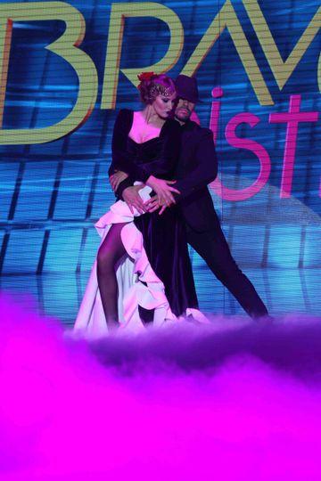 """Iulia Albu danseaza tango in prima Gala """"Bravo, ai stil!"""""""