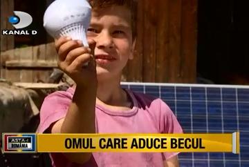 """Echipa """"Asta-i Romania!"""" a redat zambetul unui copil! O familie nevoiasa care a trait in intuneric a primit lumina! Bucuria copilului este nemarginita!"""