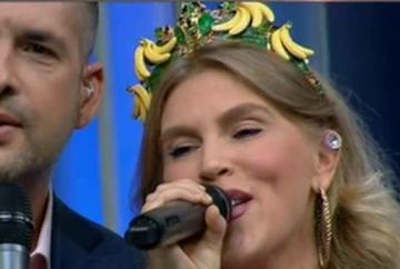Moment senzational la WOWbiz! Madalin Ionescu a cantat alaturi de Corina o piesa - A fost o declaratie romantica pentru Cristina Siscanu