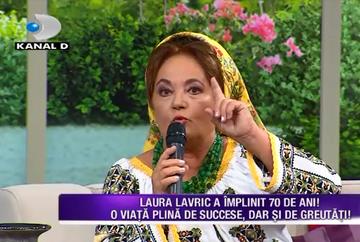Laura Lavric a implinit o venerabila varsta! Iata cum se simte artista intr-un asemenea moment important si cum a trecut aceasta peste scandalul iscat de sora sa