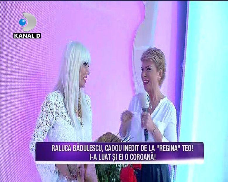 Raluca Badulescu a primit de la Teo cea mai tare surpriza de ziua ei! Iata ce cadou inedit i-a pregatit celei mai stilate colege