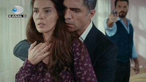 """Elif si Kahraman sunt in pericol de moarte! Cei doi sunt amenintati cu arma, azi, in """"Ziua in care mi s-a scris destinul"""", de la ora 20:00, la Kanal D"""