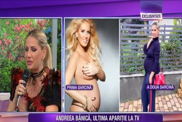 Andreea Banica, ultima aparitie la TV, inainte de nastere! Iata cum arata vedeta si ce dezvaluiri a facut aceasta despre frumosul eveniment care se apropie cu pasi repezi