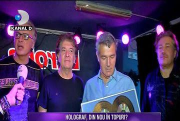 Dupa 38 de ani de cariera, trupa Holograf a primit dublu disc de platina! Iata ce au declarat artistii despre recordul stabilit si ce piesa au lansat de curand