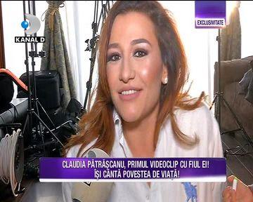 Claudia Patrascanu a filmat primul videoclip cu fiul ei! Iata cum arata micutul si cum s-a descurcat la filmari
