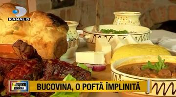 """Gazduire si ospat in Cetatea Sucevei! Iata cele mai delicioase mancaruri din """"Tara de Sus"""""""