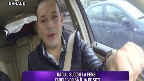 Raoul, asaltat de femei! Toate fanele isi doresc sa se marite cu el! Iata cum a trecut acesta testul de vedeta si ce reactie a avut cand au navalit doamnele peste el