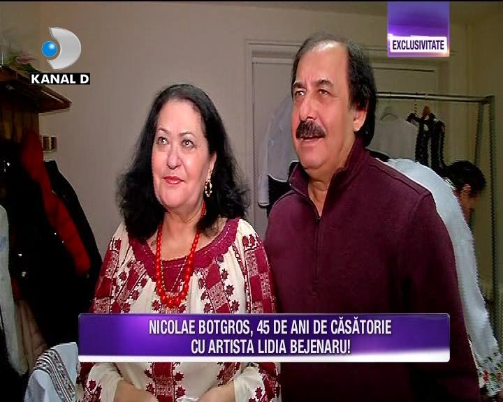 Maestrul Nicolae Botgros serbeaza 45 de ani de casatorie! Iata ce destainuiri inedite a facut acesta despre casnicia sa