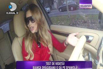 """Bianca Dragusanu este extrem de nervoasa atunci cand intarzie barbatii: """"Sunteti mirese?"""". Iata ce reactie a avut aceasta si cum s-a descurcat la testul de vedeta al saptamanii"""