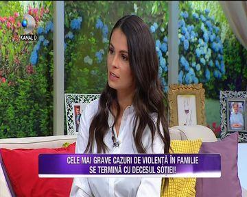Anca Serea, despre violenta domestica! In Romania, peste 50000 de femei sunt agresate fizic sau verbal de sotii lor! Iata ce sfaturi a oferit vedeta tuturor femeilor
