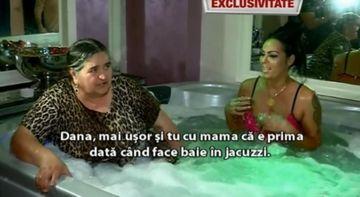 """Dana si """"Patroana"""", SHOW in jacuzzi! Au facut baie impreuna in spuma si s-au certat incontinuu"""