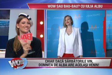 Mirela Boureanu Vaida, aparitia care a socat-o pe Iulia Albu! De ce a primit trofeul BAU