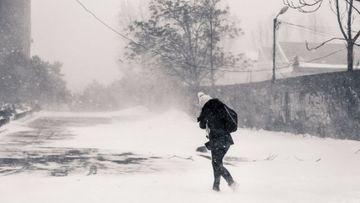 COD PORTOCALIU de ger in Bucuresti! Se anunta temperaturi extrem de scazute! Uite cat de frig va fi in zilele urmatoare