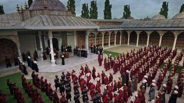 """Pentru realizarea serialului """"Kosem"""" un intreg oras a fost construit pe 4 hectare! 350 de oameni au lucrat la realizarea decorului! Nu ratati luni seara, de la 20.00, la Kanal D, premiera celui mai asteptat serial al momentului"""