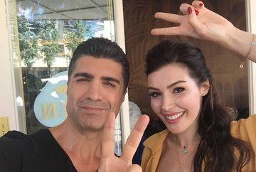 """Ozcan Deniz si Hatice Sendil, revedere emotionanta dupa serialul de succes """"Ziua in care mi s-a scris destinul!"""". Uite ce burtica mare are acum actrita"""