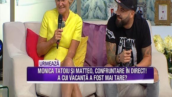 Monica Tatoiu si Matteo se dueleaza in vacante exotice! Iata care dintre a avut cea mai reusita vacanta si prin ce peripetii au trecut