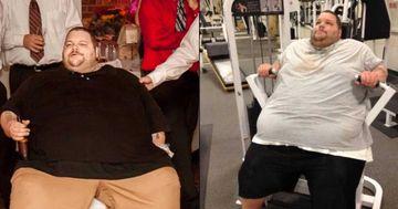 Era atat de gras, incat medicii l-au avertizat ca nu o sa ajunga la 35 de ani! E incredibil cum arata barbatul acum, la doi ani dupa ce a inceput sa faca sport