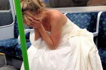 "Li s-a rupt sufletul cand au vazut mireasa asta in tramvai, plangand in hohote. S-au dus la ea si au intrebat-o ce are. S-au intristat cand au aflat ce a patit tanara la propria nunta: ""Nicio femeie nu merita asa ceva!"""