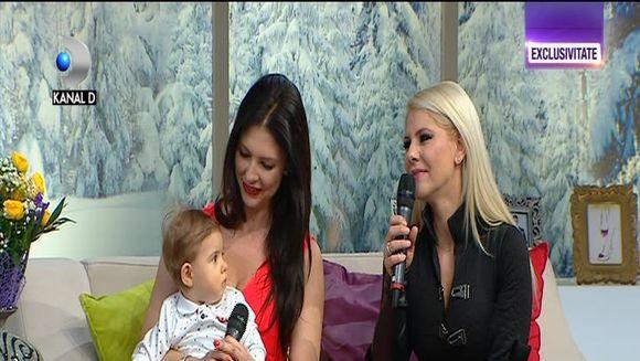 Roxana, fosta componenta a trupei Heaven, in premiera cu fiul ei, la TV! Aceasta si-a ascuns sarcina si nu a dezvaluit ca va deveni mamica decat familiei sale! Iata ce anume a determinat-o sa recurga la acest gest