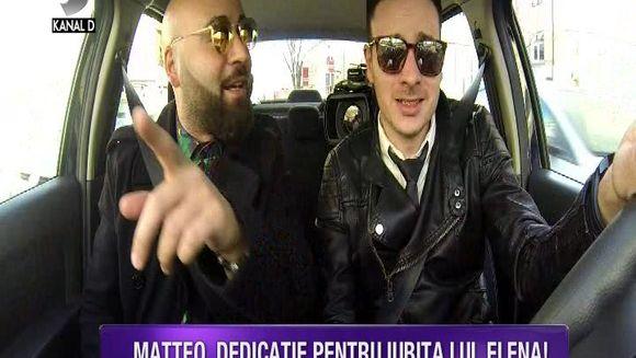 Matteo, test de vedeta cu peripetii! Artistul nu are permis auto si a venit cu o motocicleta electrica! Iata cum s-a descurcat cantaretul!