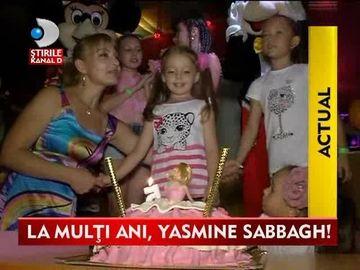 La multi ani, Yasmine Sabbagh! Fiica lui Christian Sabbagh a implinit 5 anisori