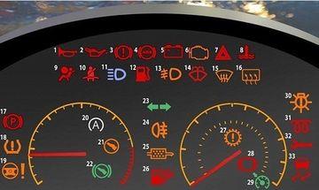 INGRIJORATOR! Specialistii sustin ca majoritatea soferilor NU STIU ce indica semnele de pe bordul masinii