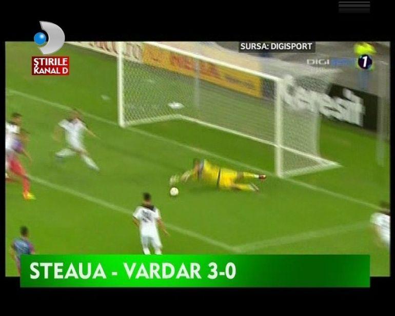 Steaua a facut SHOW pe Arena Nationala. A invins cu 3-0 si s-a calificat in Liga Campionilor VIDEO