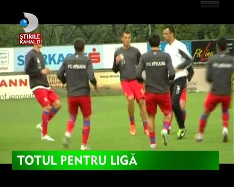 PRELIMINARIILE LIGII CAMPIONILOR. Steua vs Vardar Skopje VIDEO