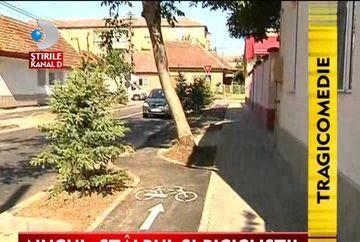 Obstacol NEOBISNUIT pe pistele de bicicleta din Timisoara VIDEO