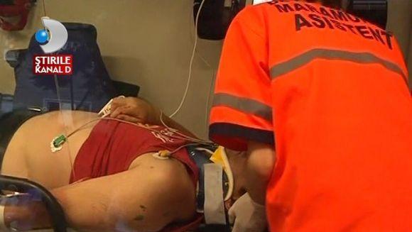 MOTIVUL HALUCINANT pentru care un barbat s-a aruncat de la etaj VIDEO