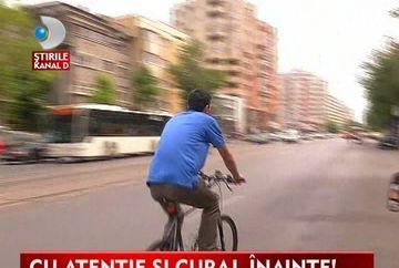 Biciclisti vs soferi. Poate fi bicicleta o SOLUTIE intr-un trafic aglomerat? VIDEO