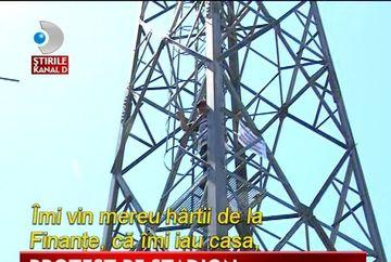 PROTEST INEDIT pe stadion. Cum a ales un cetatean sa-si strige nemultumirea VIDEO